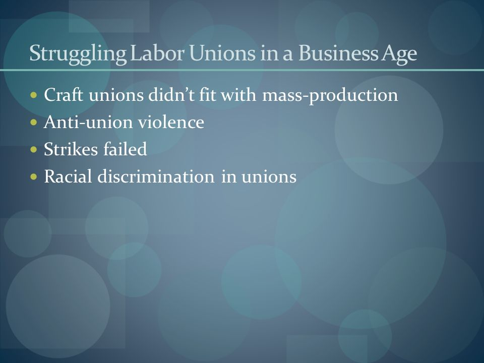 labor relations unions in todays age Korea - 92-labor policies & practiceskorea - labor policies this information is derived from the state department's office of investment affairs investment climate.