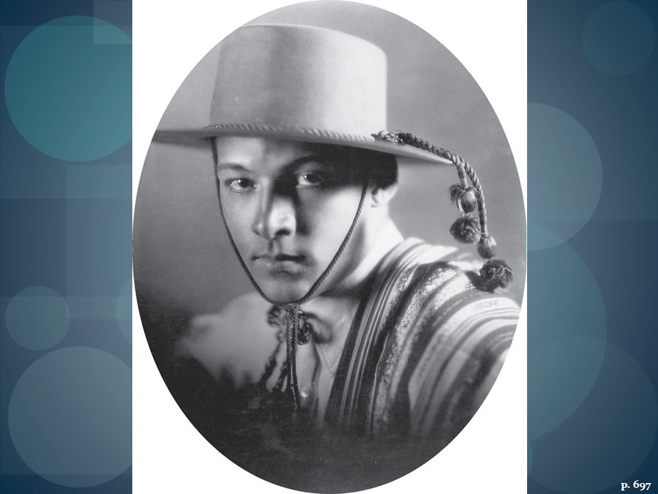 RUDOLPH VALENTINO IN THE FOUR HORSEMEN OF THE APOCALYPSE