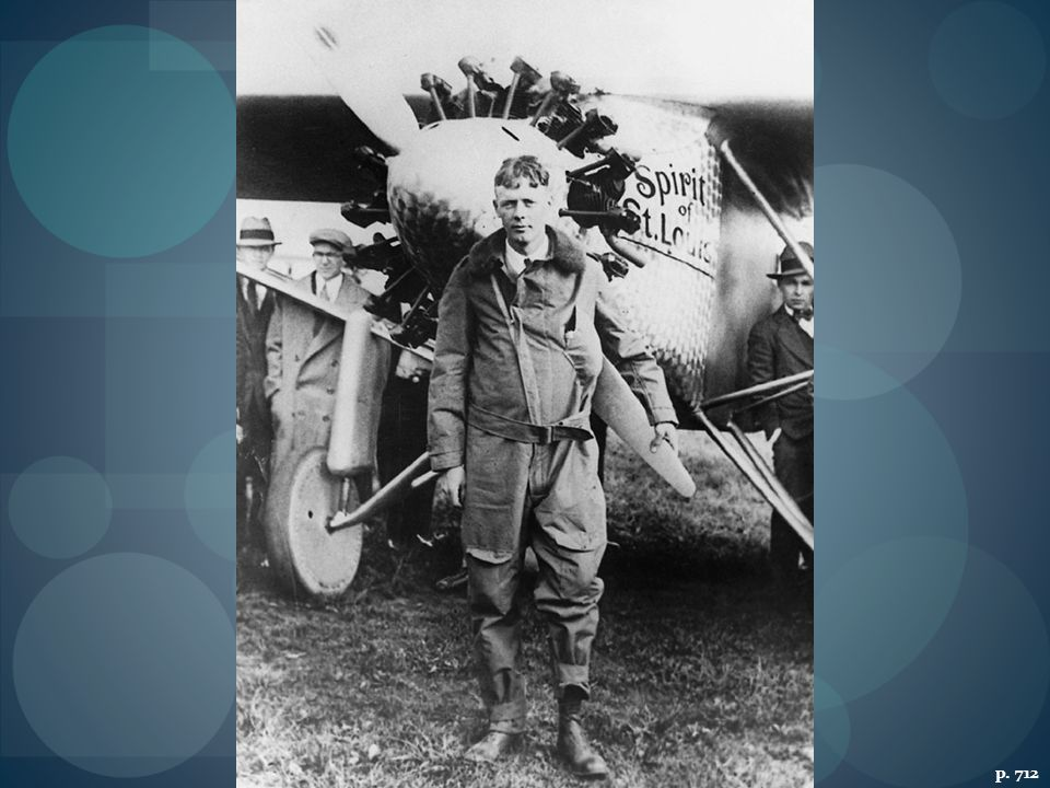 CHARLES A. LINDBERGH AND THE SPIRIT OF ST