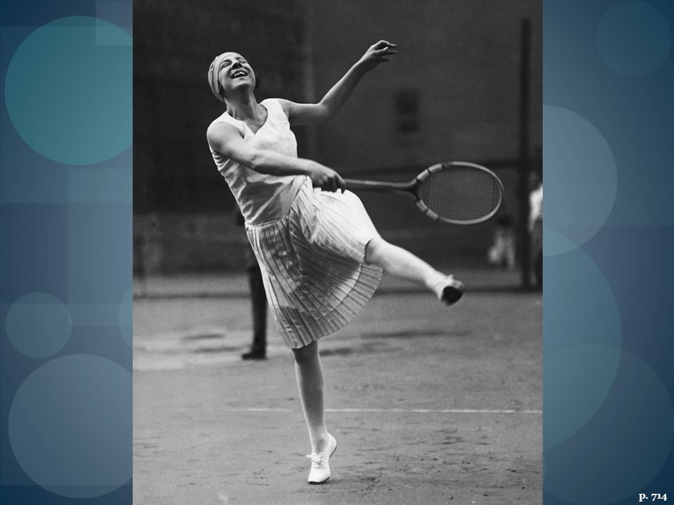 FRENCH TENNIS STAR SUZANNE LENGLEN AT ENGLAND'S WIMBLEDON STADIUM IN THE EARLY 1920S With her short tennis outfits and fondness for sipping brandy between sets, Lenglen offered one version of the international New Woman of the 1920s.