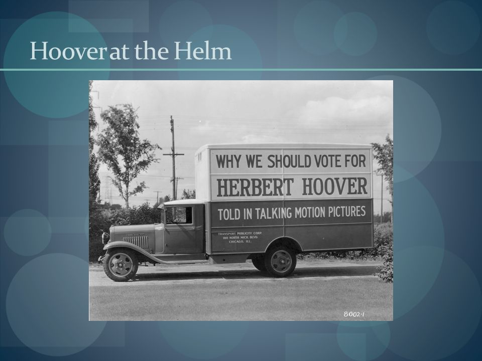 Hoover at the Helm