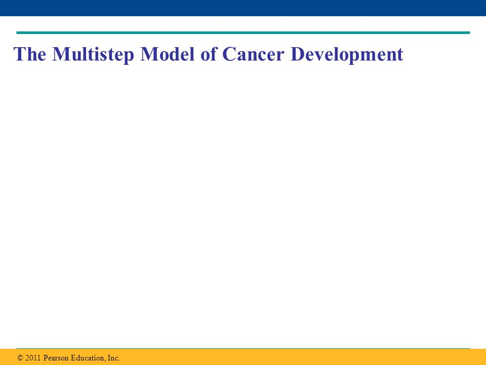The Multistep Model of Cancer Development