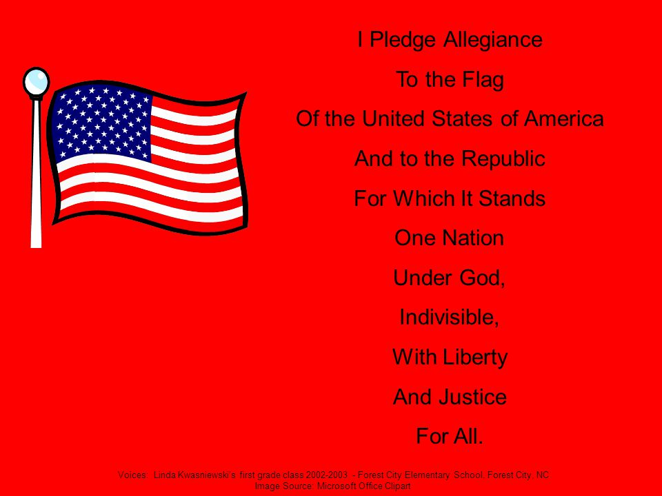 Of the United States of America