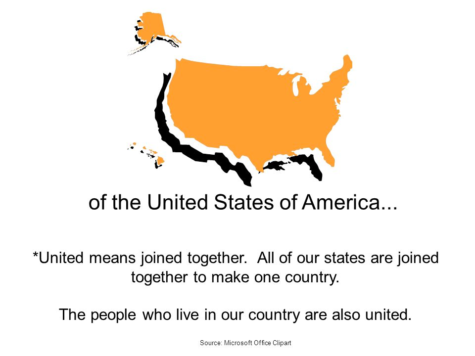of the United States of America...