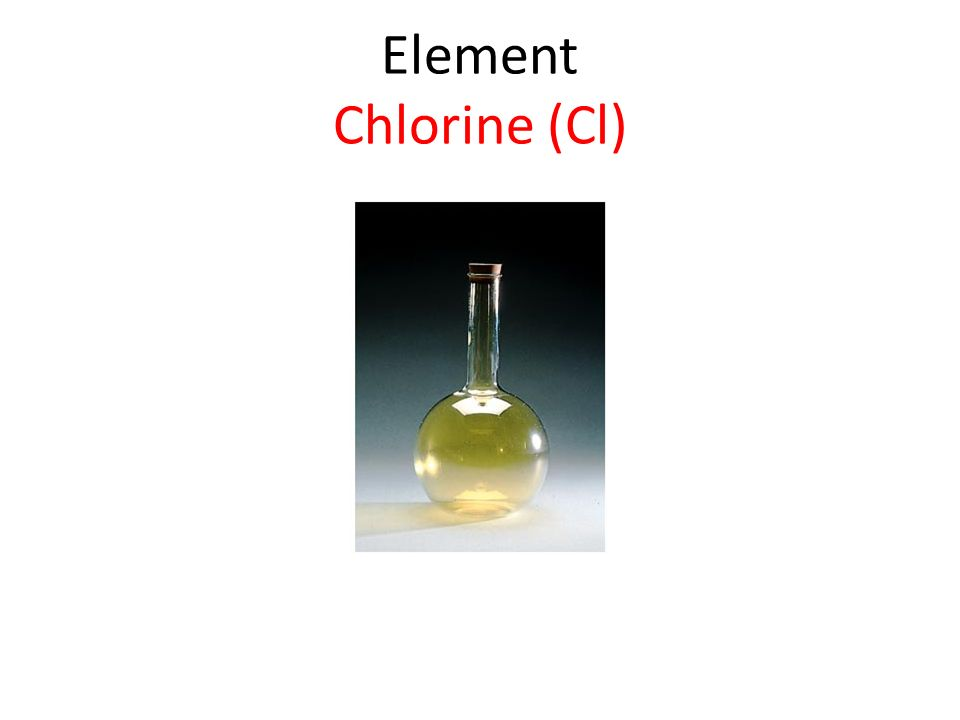 Element Chlorine (Cl)