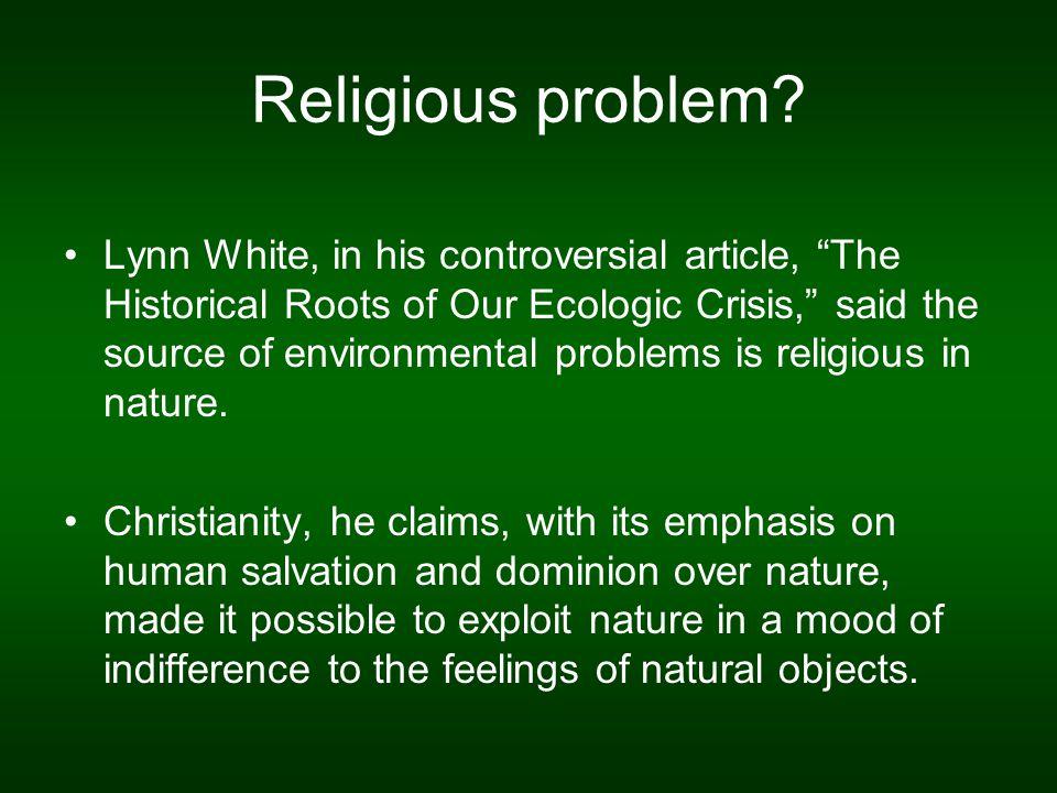 Religious problem