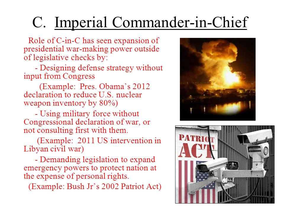 C. Imperial Commander-in-Chief