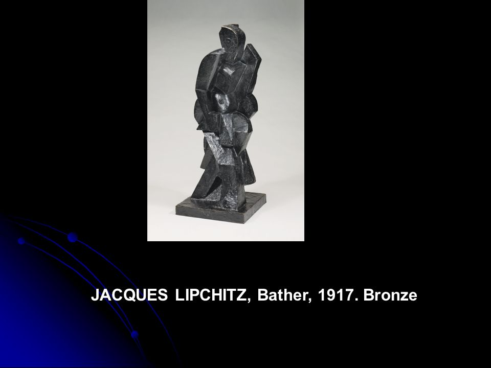 JACQUES LIPCHITZ, Bather, 1917. Bronze