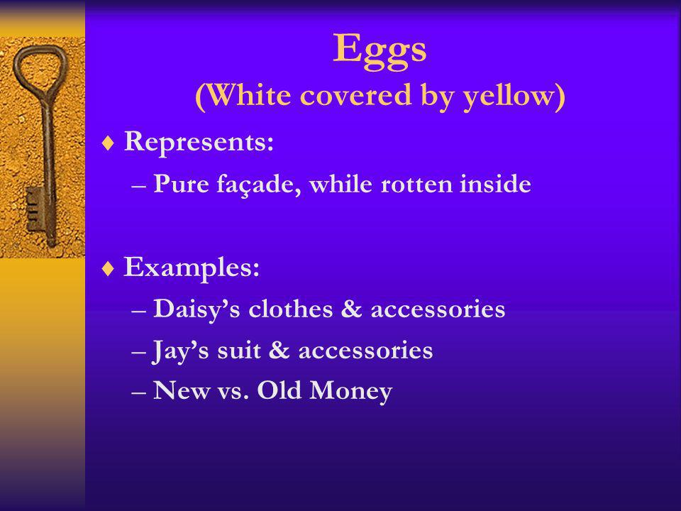 Eggs (White covered by yellow)