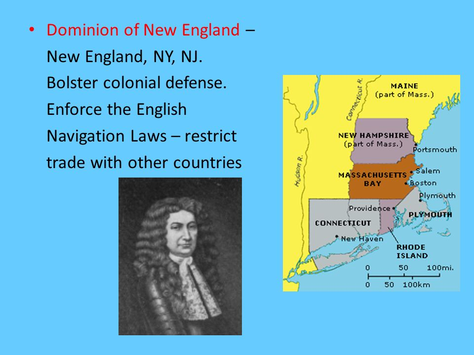Dominion of New England –