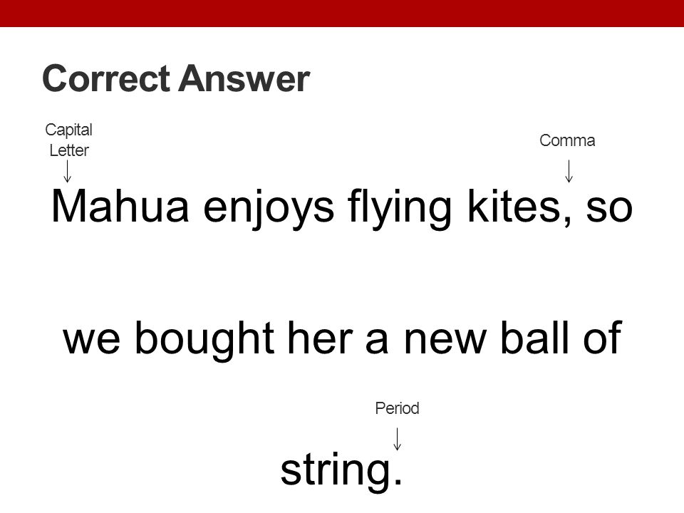Mahua enjoys flying kites, so we bought her a new ball of string.