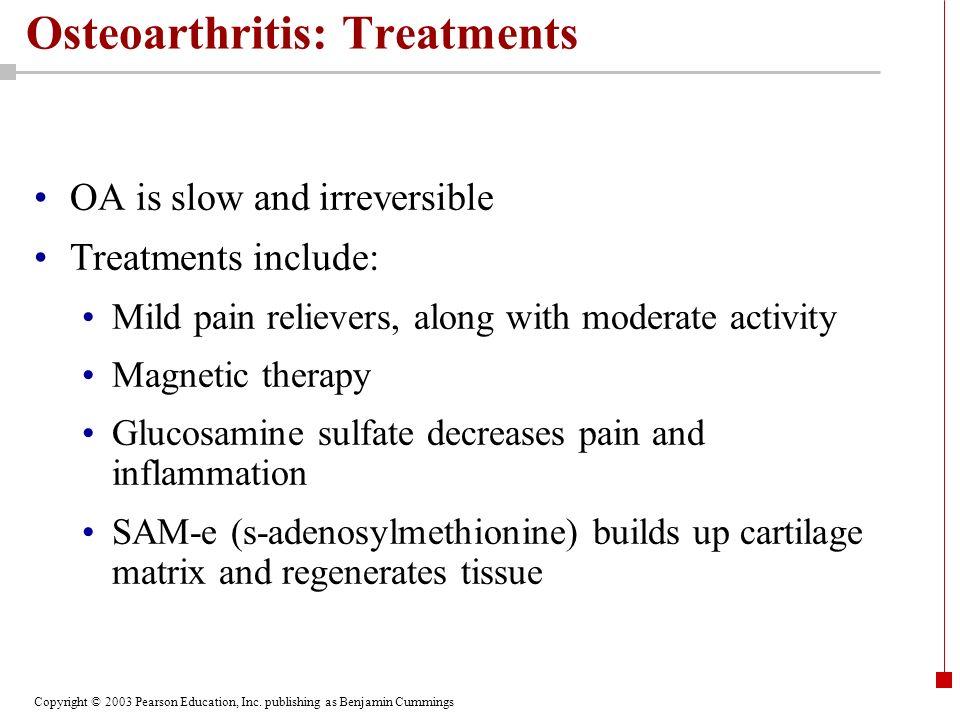 Osteoarthritis: Treatments