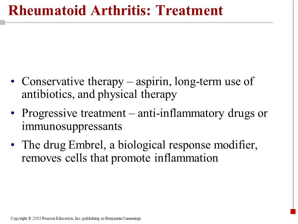 Rheumatoid Arthritis: Treatment