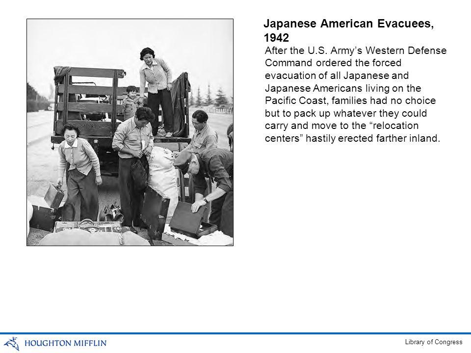 Japanese American Evacuees, 1942