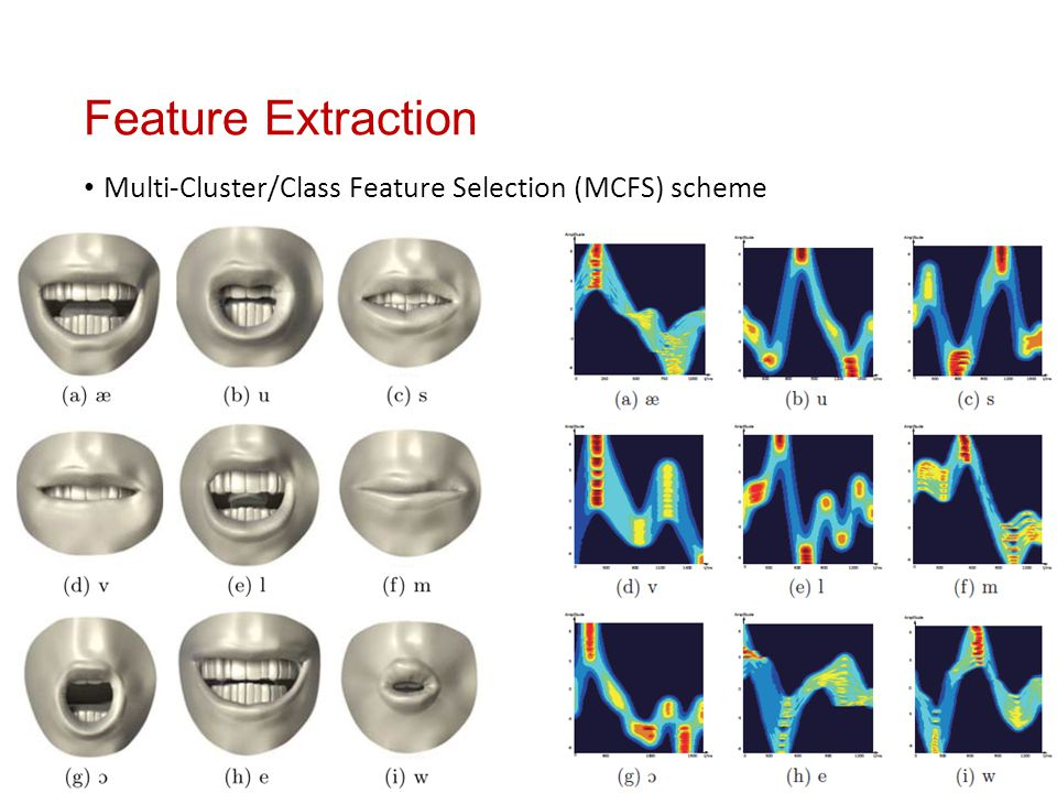 Feature Extraction Multi-Cluster/Class Feature Selection (MCFS) scheme