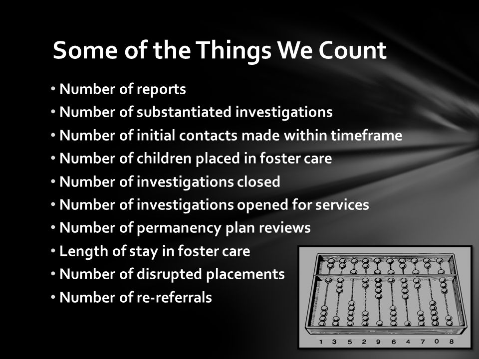 Some of the Things We Count