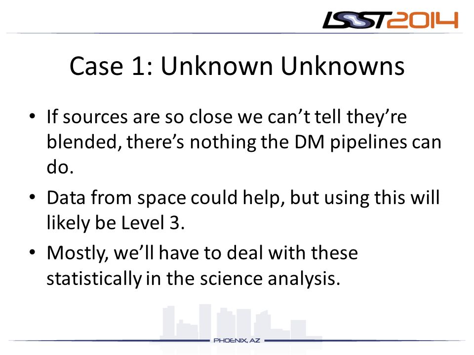 Case 1: Unknown Unknowns