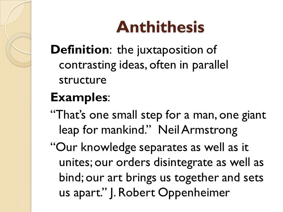 Anthithesis