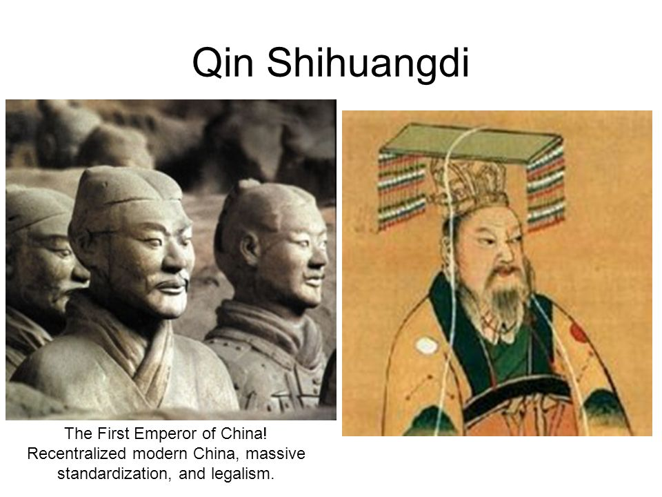 Qin Shihuangdi The First Emperor of China!