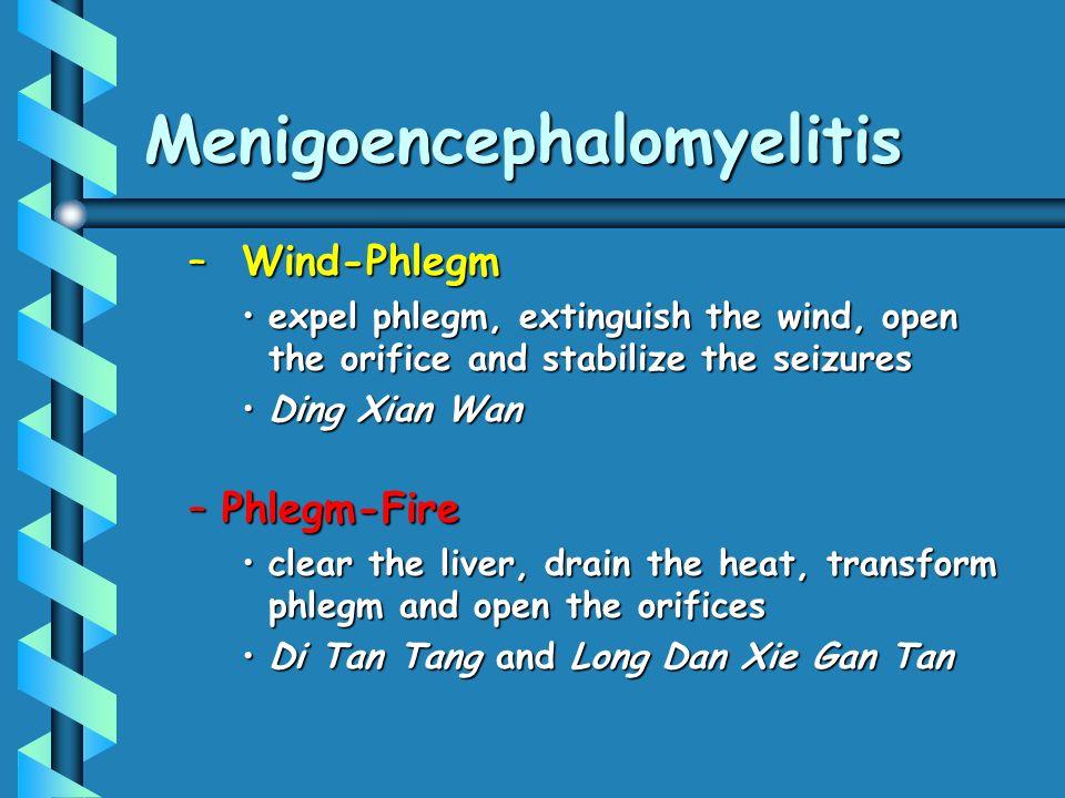 Menigoencephalomyelitis