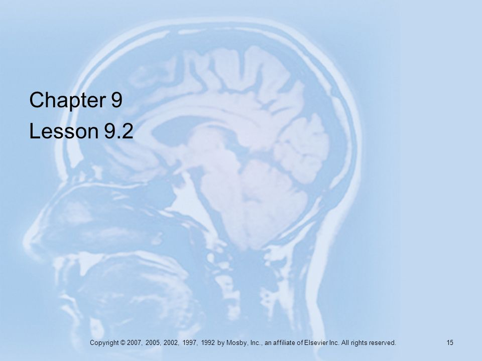 Chapter 9Lesson 9.2.