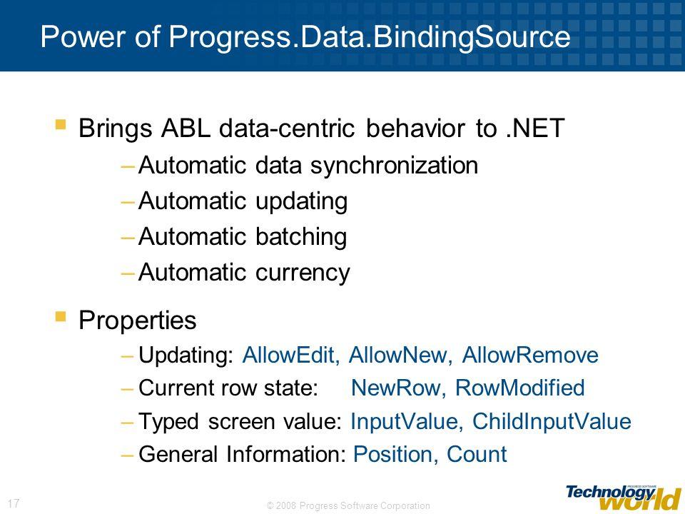 Power of Progress.Data.BindingSource