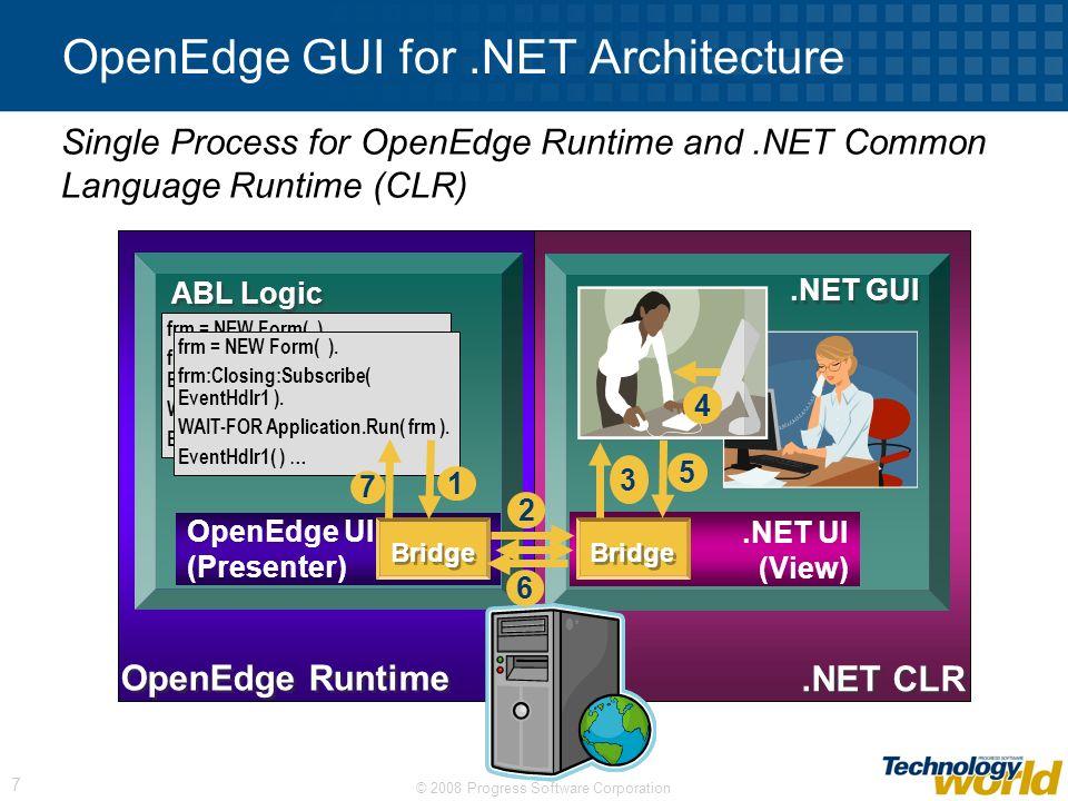 OpenEdge GUI for .NET Architecture