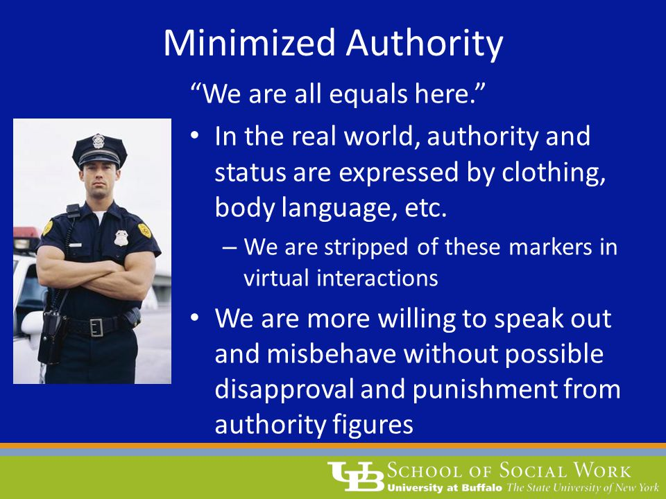Minimized Authority We are all equals here.