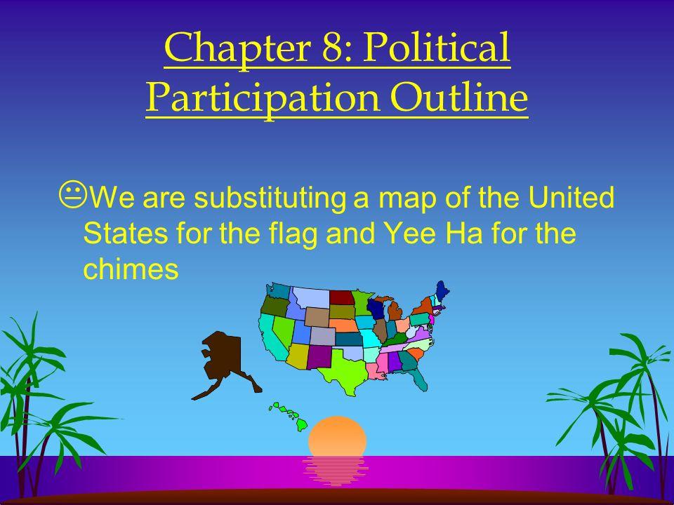 Chapter 8: Political Participation Outline