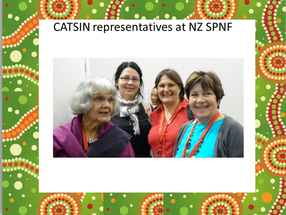 CATSIN representatives at NZ SPNF