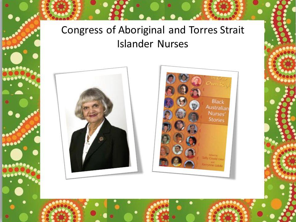 Congress of Aboriginal and Torres Strait Islander Nurses