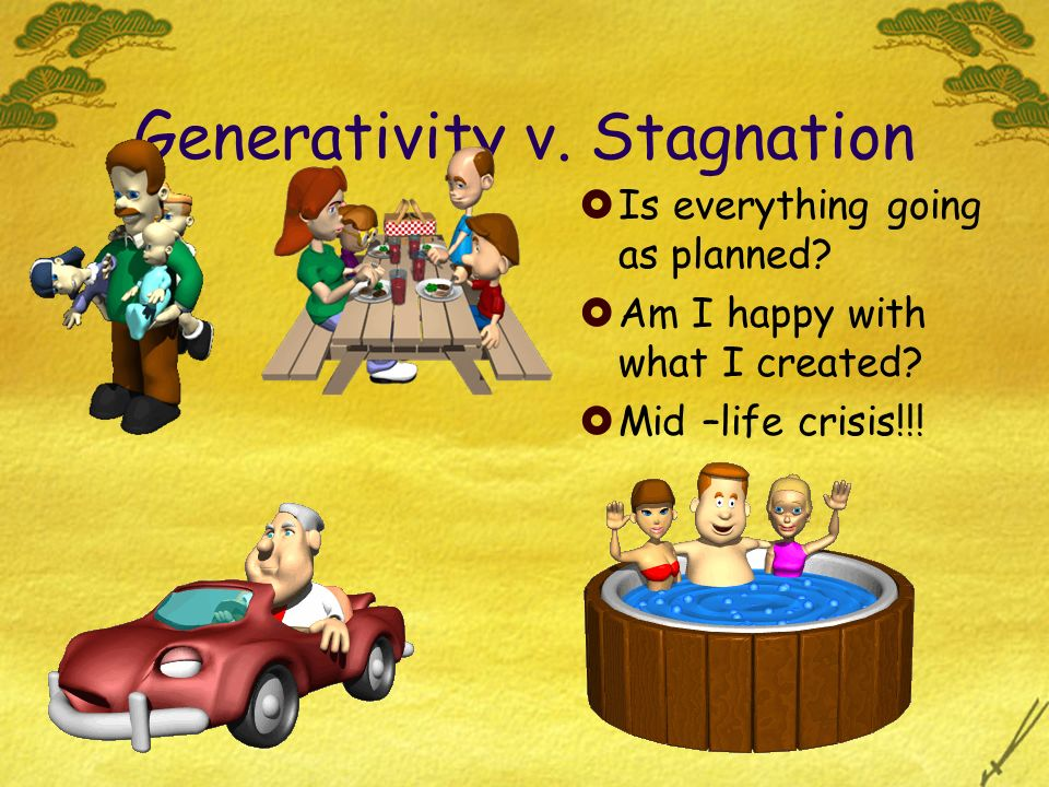 Generativity v. Stagnation