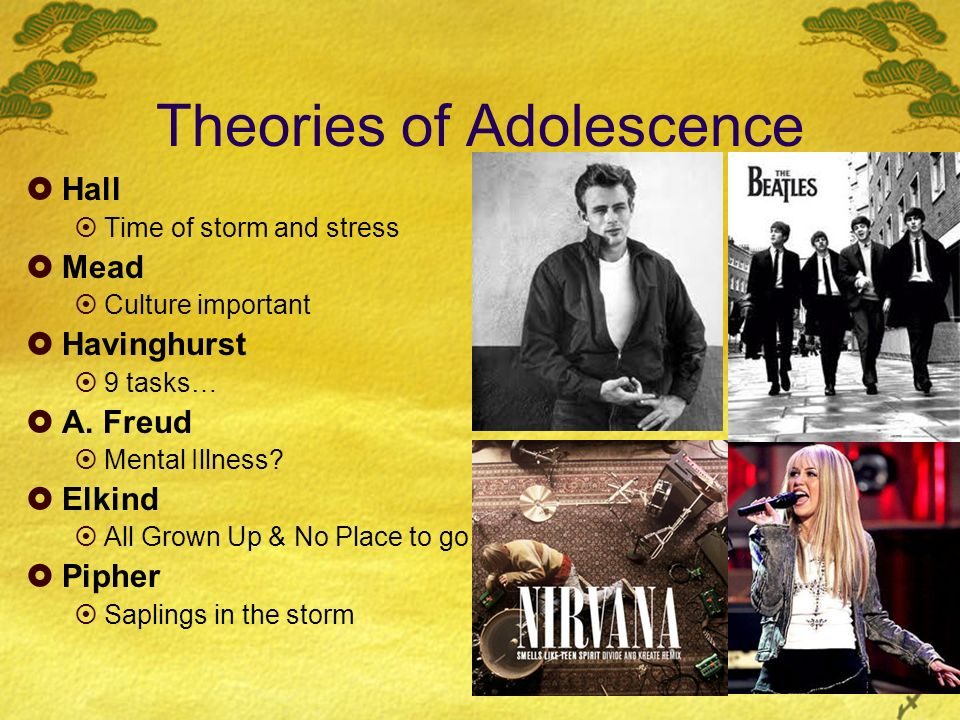 Theories of Adolescence