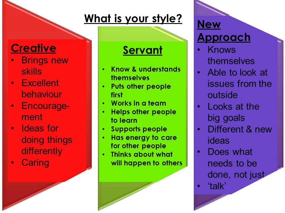 What is your style Servant