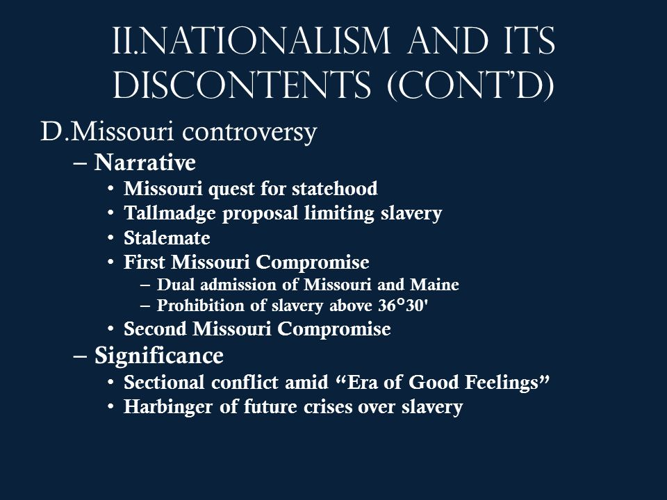 Nationalism and its discontents (cont'd)