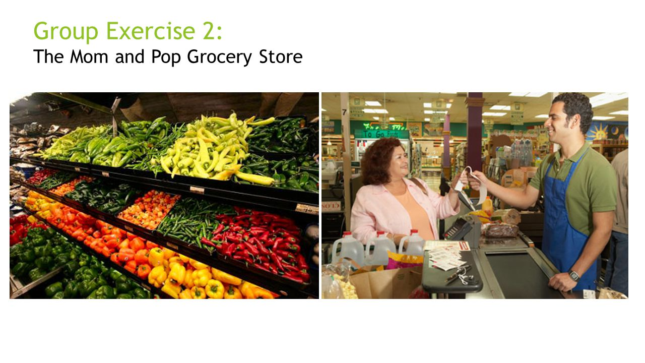Group Exercise 2: The Mom and Pop Grocery Store Dan