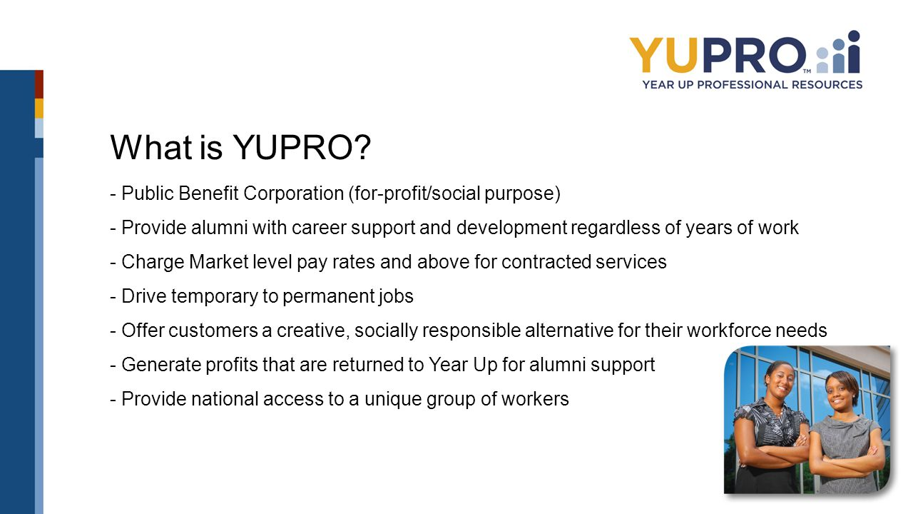 What is YUPRO.