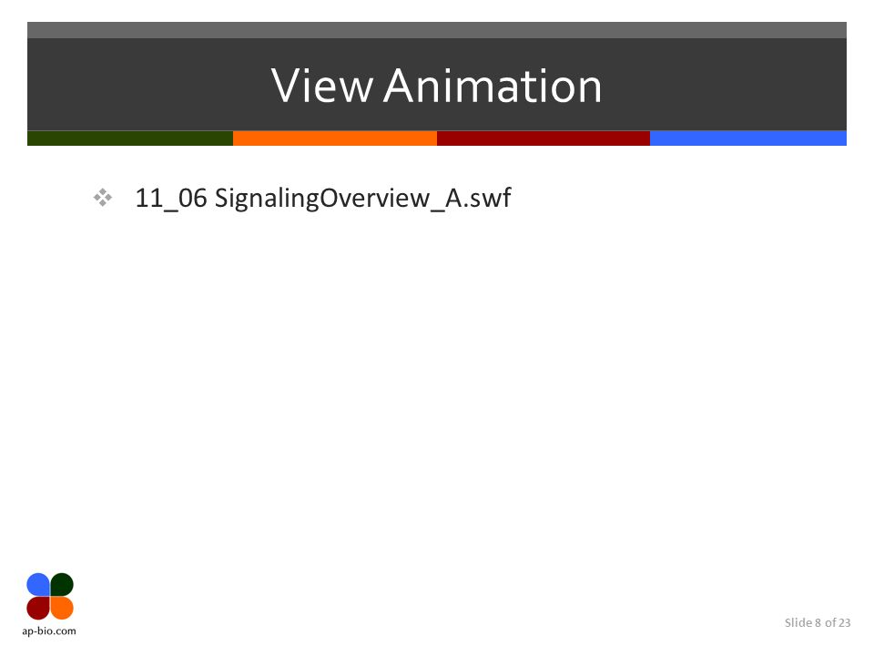 View Animation 11_06 SignalingOverview_A.swf