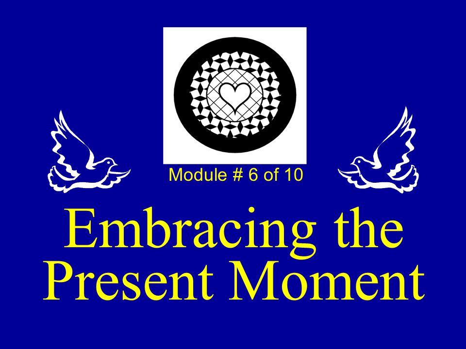 Embracing the Present Moment