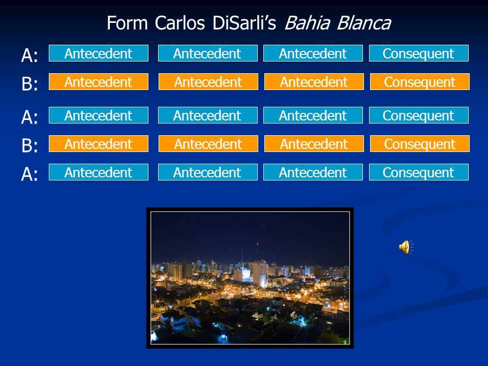Form Carlos DiSarli's Bahia Blanca