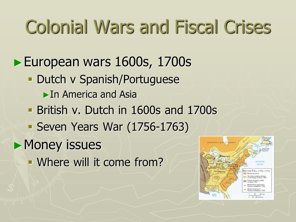 Colonial Wars and Fiscal Crises