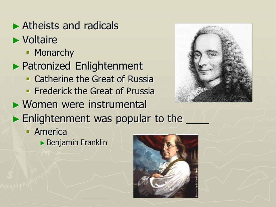 Patronized Enlightenment