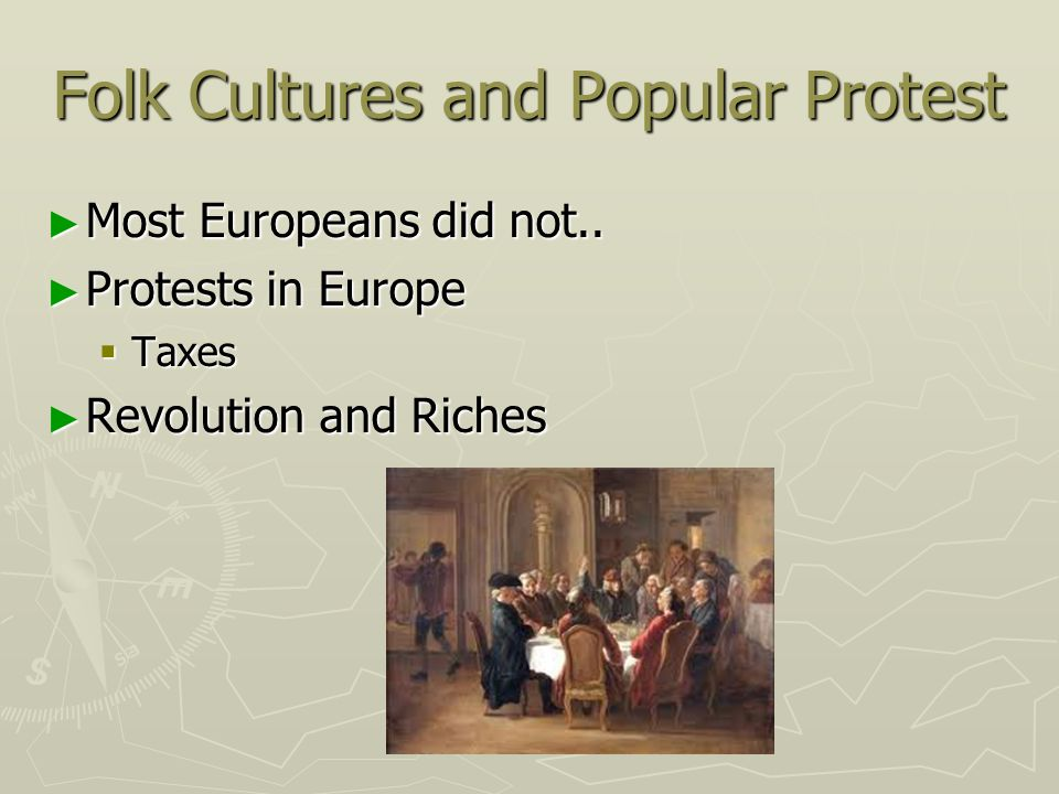 Folk Cultures and Popular Protest