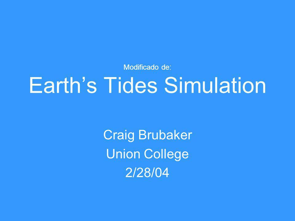 Modificado de: Earth's Tides Simulation
