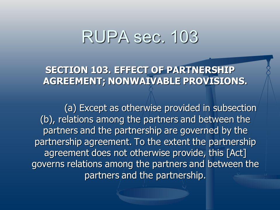 RUPA sec. 103