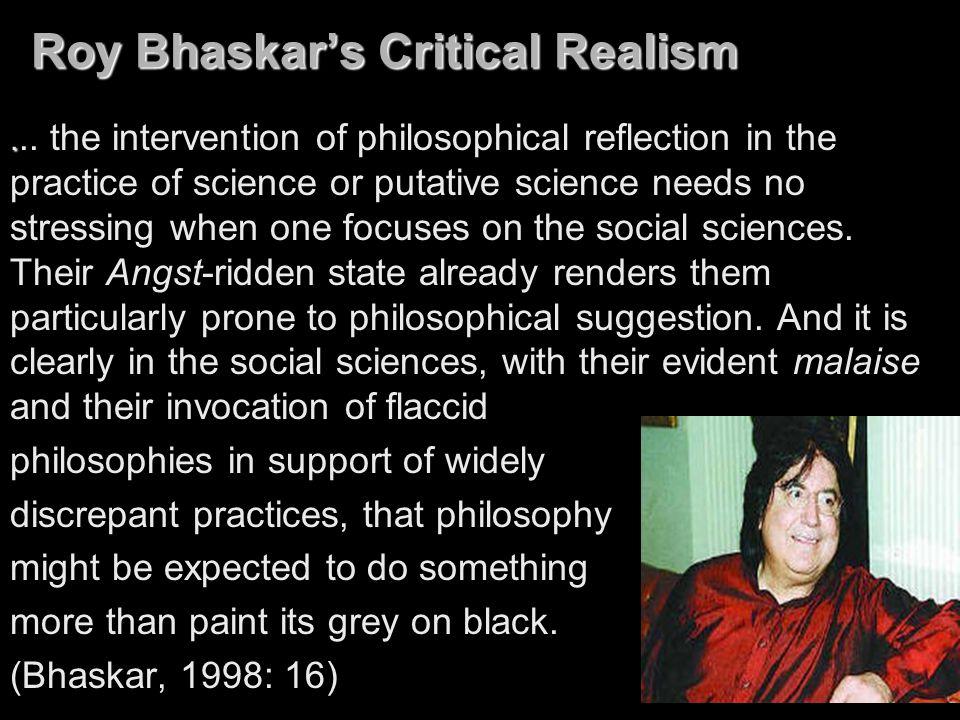 Roy Bhaskar's Critical Realism