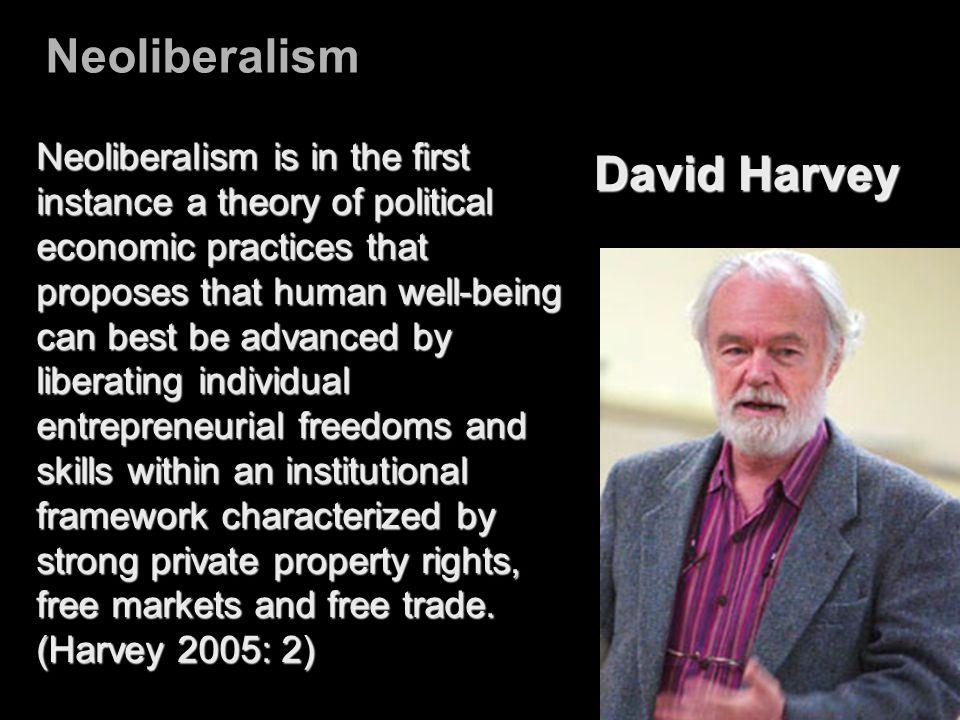 Neoliberalism David Harvey