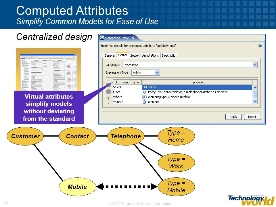 Computed Attributes Simplify Common Models for Ease of Use