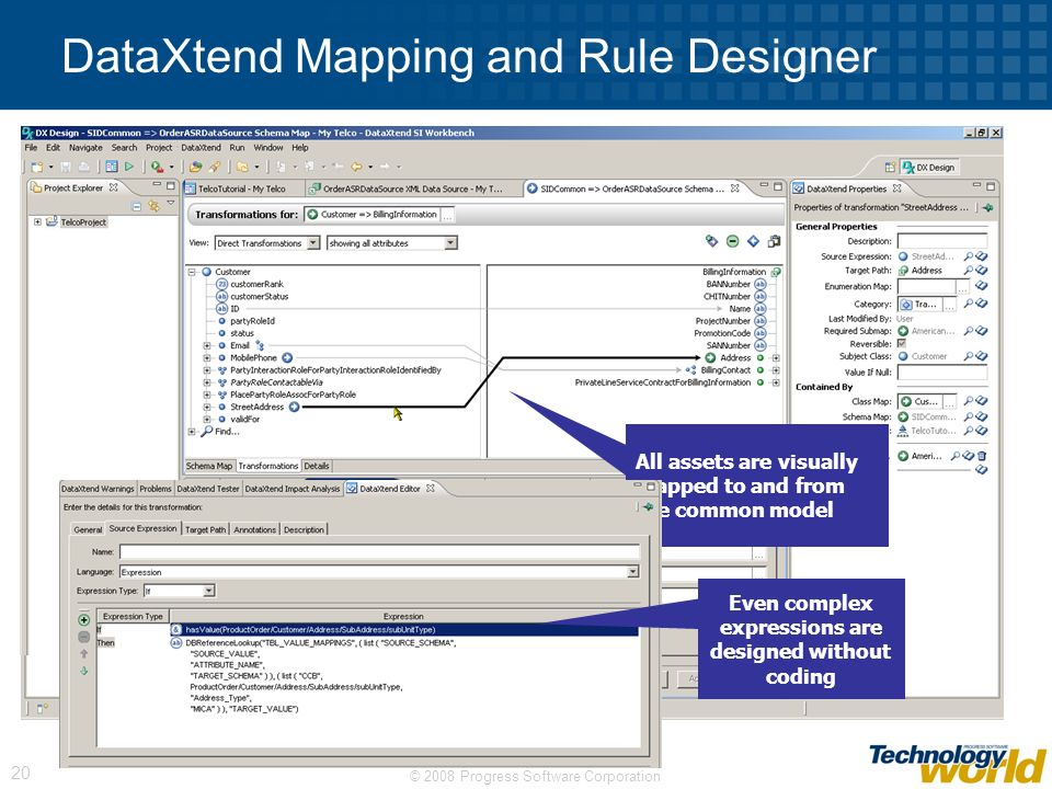 DataXtend Mapping and Rule Designer