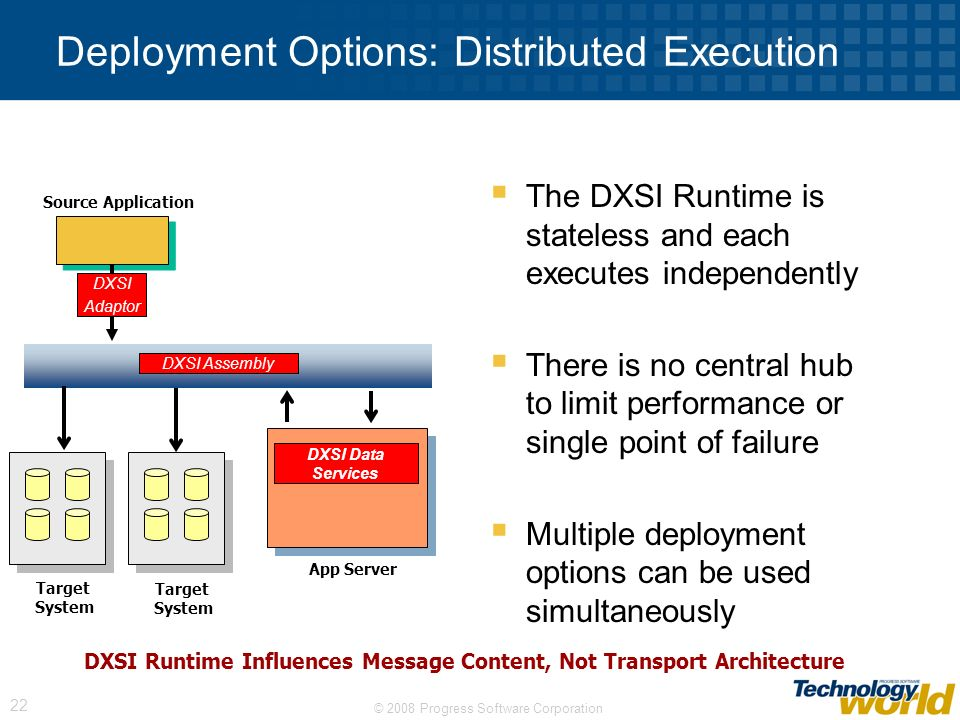 Deployment Options: Distributed Execution